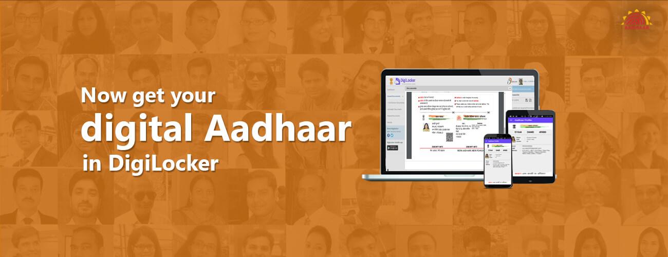 DigiLocker for digital Aadhaar card