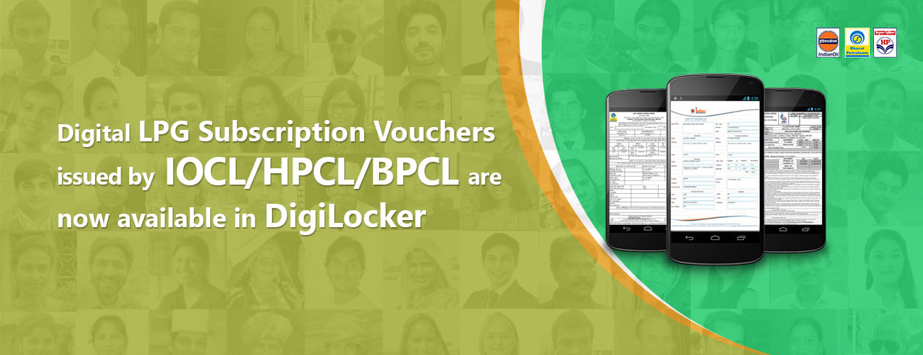 DigiLocker for LPG Subscription Voucher